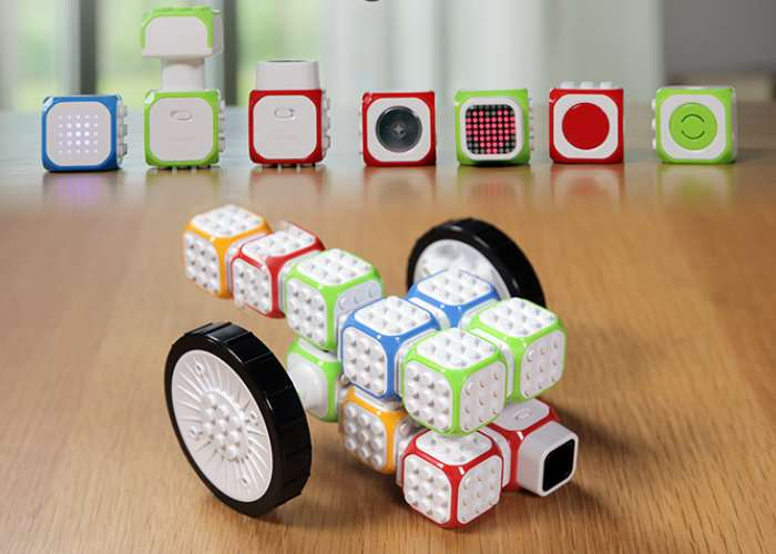 Cubroid Creative Wireless Coding Blocks