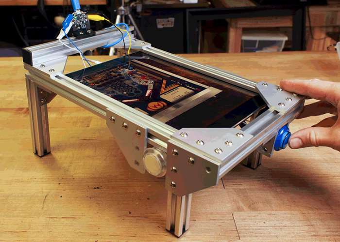 DIY Mini iPad Pinball Table