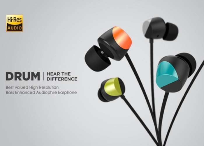 DRUM Bass Enhanced Audiophile Earphone