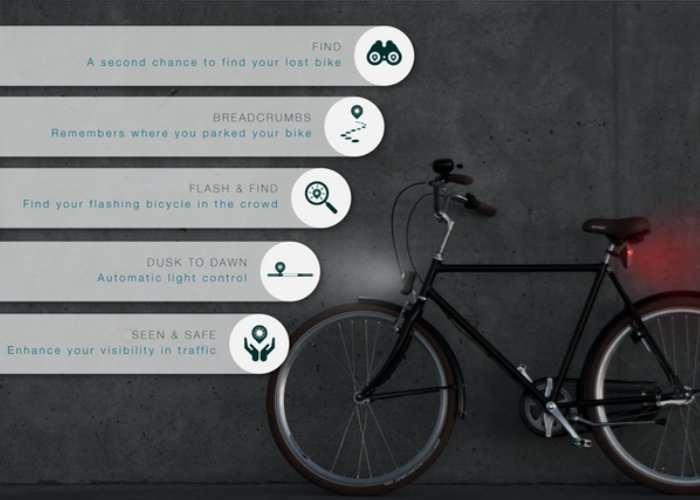 DeLight Intelligent Bike Lights