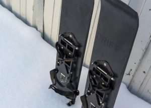 Drift Boards Snowshoes For Snowboarders (video)