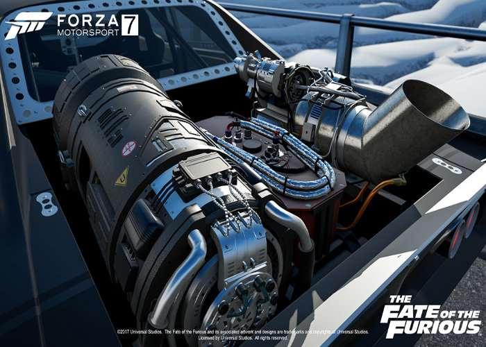 Fate of the Furious Car Bundle