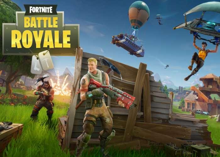 Fortnite 100 Player PvP Battle Royale Mode