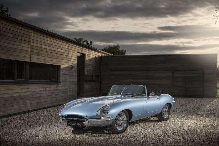 Jaguar E Type Zero