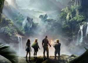 Jumanji Welcome To The Jungle Trailer (video)