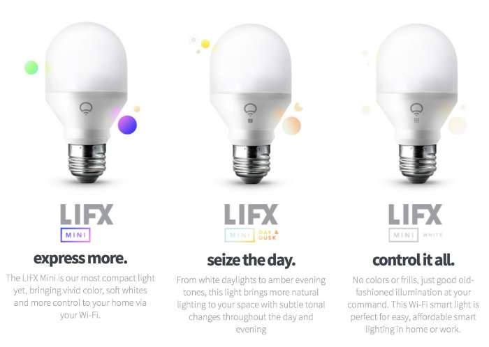 LIFX Mini Smart Bulb