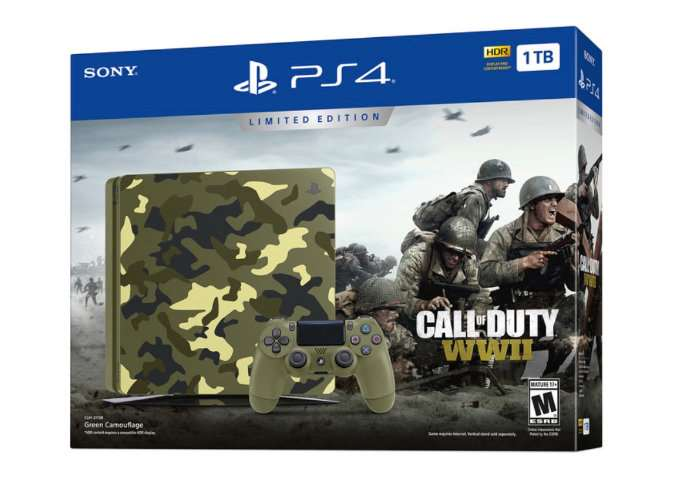 Limited Edition Call of Duty WWII PS4 Bundle