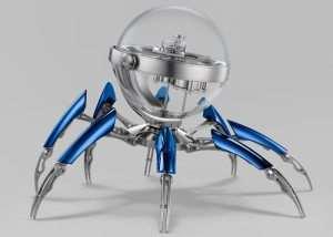 $36,000 MB&F Octopod Clock (video)