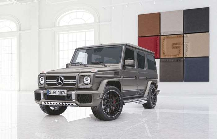Mercedes AMG G63 And G65 Exclusive Editions