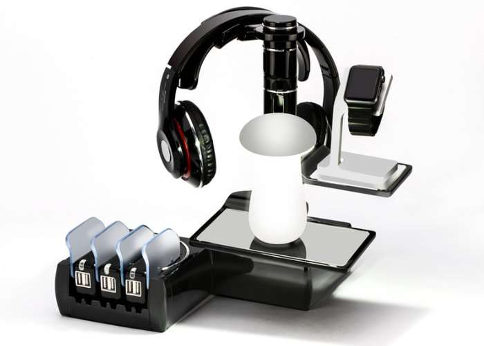 Modular Charging Station And Gadget Tower