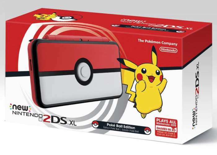 Nintendo 2DS XL Pokéball Special Edition