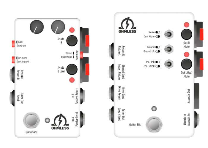 Ohmless MultiTool Guitar Pedals