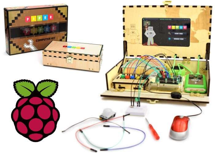 Piper Raspberry Pi Education Kits