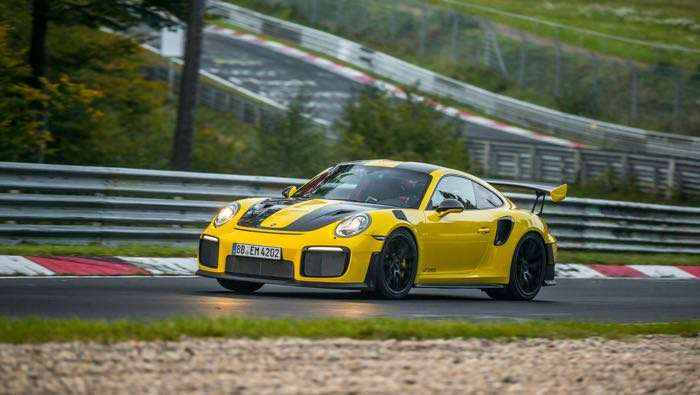 Porsche 911 GT2 RS claims Nurburgring lap record