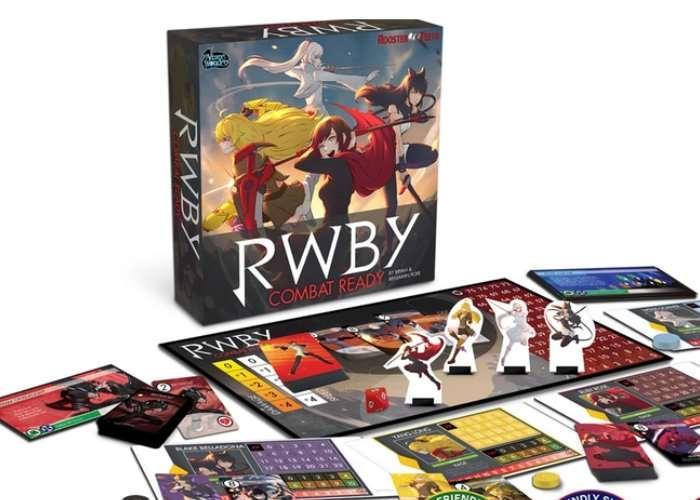 RWBY- Combat Ready