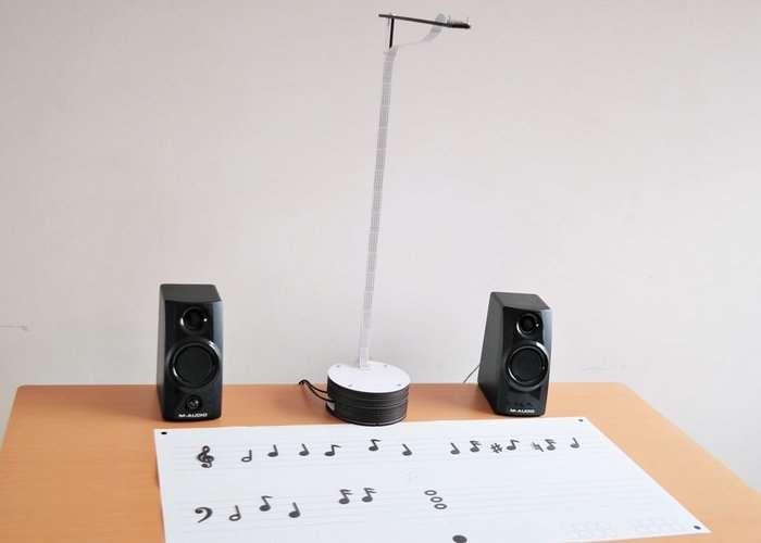 Raspberry Pi Machine Vision Music Score Reader