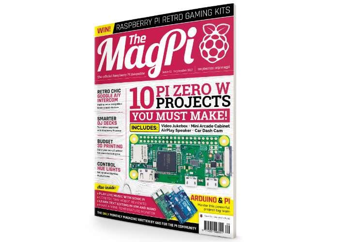 Raspberry Pi Mag Pi Magazine September 2017