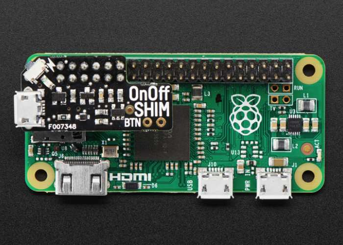 Raspberry Pi Pimoroni OnOff SHIM Button