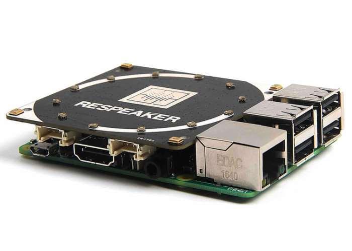 Raspberry Pi ReSpeaker 4-Microphone HAT