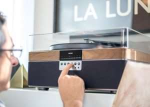+RECORD, Record Player Stereo Music System (video)