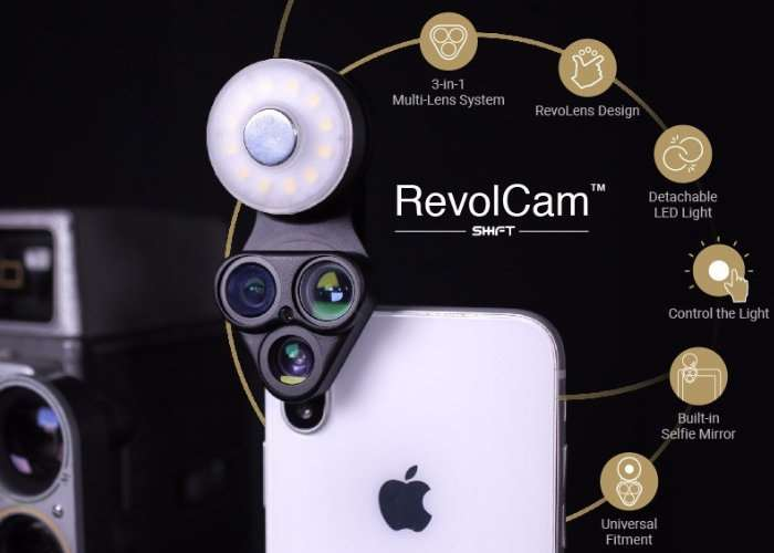 RevolCam Smartphones Multi-Lens Adapter