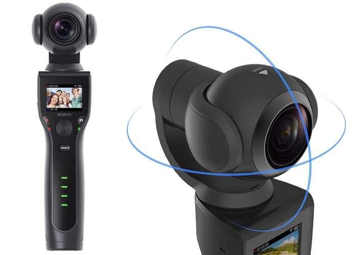 Self-Stabilizing 4K Ultra HD Camera