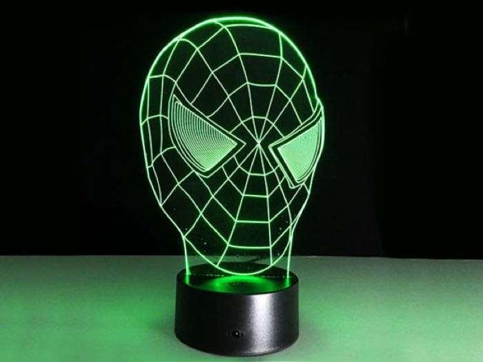 Superhero 3D Illusion Lamps