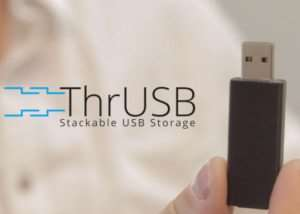 ThrUSB Stackable USB Storage (video)