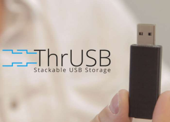 ThrUSB Stackable USB Storage