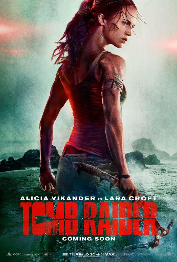Tomb Raider 2018 Movie Reboot Teaser Trailer Video