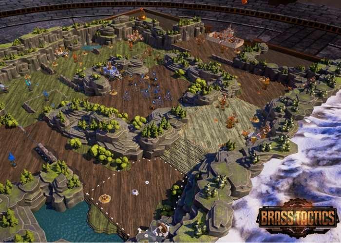 VR RTS Brass Tactics