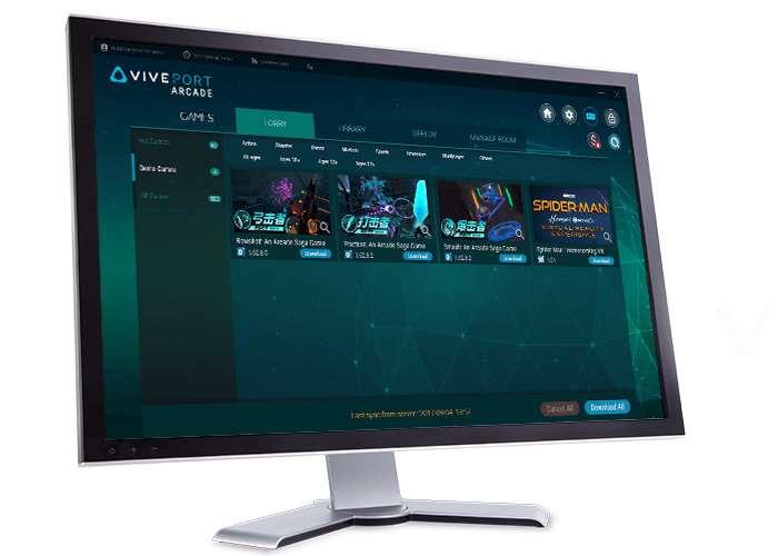 Viveport Arcade Manager Software