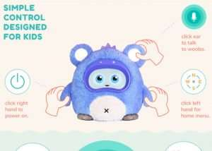 Woobo Educational Robot Designed For Children (video)