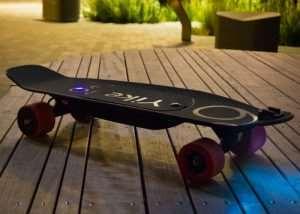 YikeBoard Last Mile Transport Electric Skateboard (video)