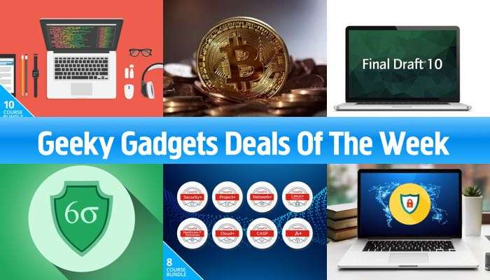 Geeky gadgets Deals