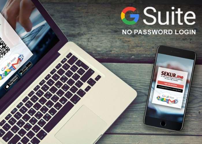 gSuite Eliminates Passwords For Google Apps