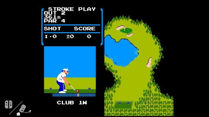 NES' Golf found hidden in Nintendo Switch OS