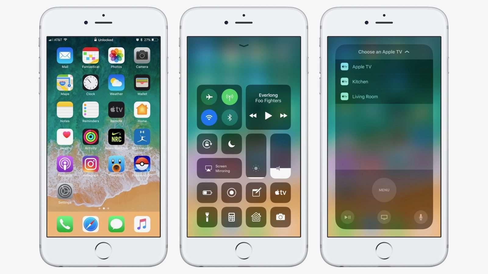 iOS 11 Beta 10 vs iOS 10.3.3