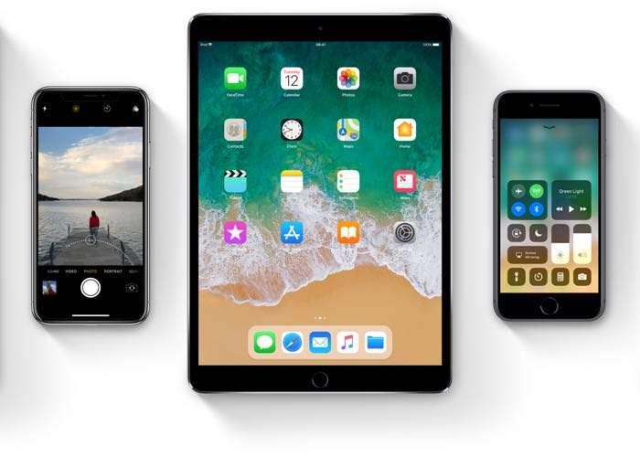 iOS 11.0.1 vs iOS 10.3.3