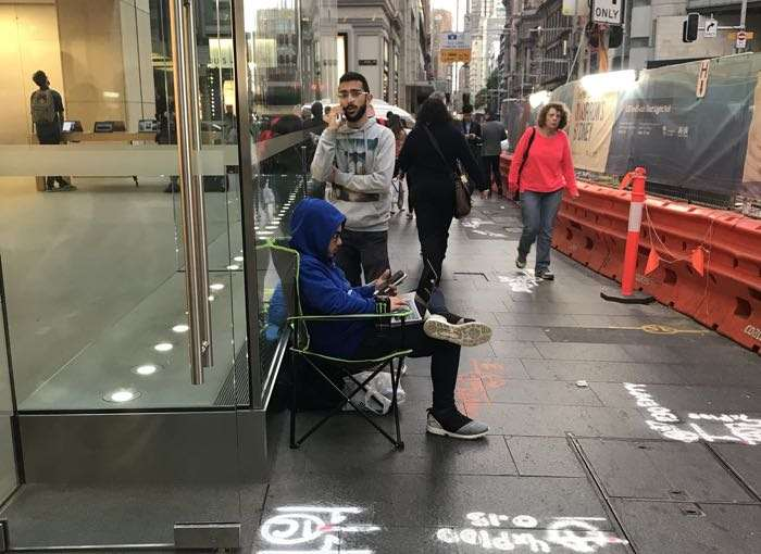 People Are Already Queuing For The iPhone X, Before It Is Announced