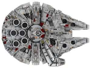 New Lego Millennium Falcon Has 7,541 Pieces (Video)