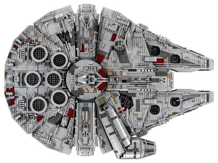 $800 Millennium Falcon soars as Lego's biggest set ever