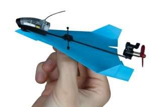 PowerUp DART Smartphone Controlled Paper Airplane (video)