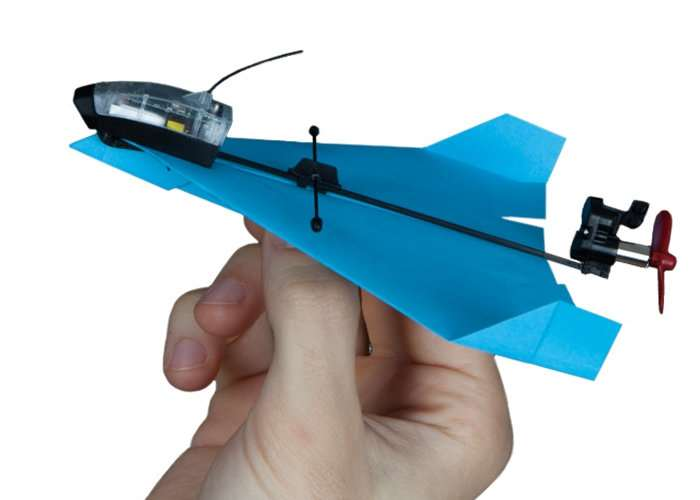 martphone Controlled Paper Airplane