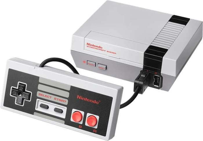 Nintendo NES Mini Classic : the production will resume in 2018