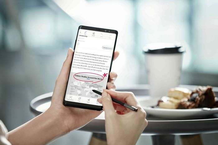 Samsung Galaxy Note 8 open for pre-registration in India