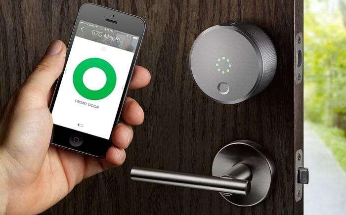 smart home door lock