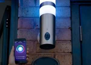 180 Degree HD Wall Light Security Camera