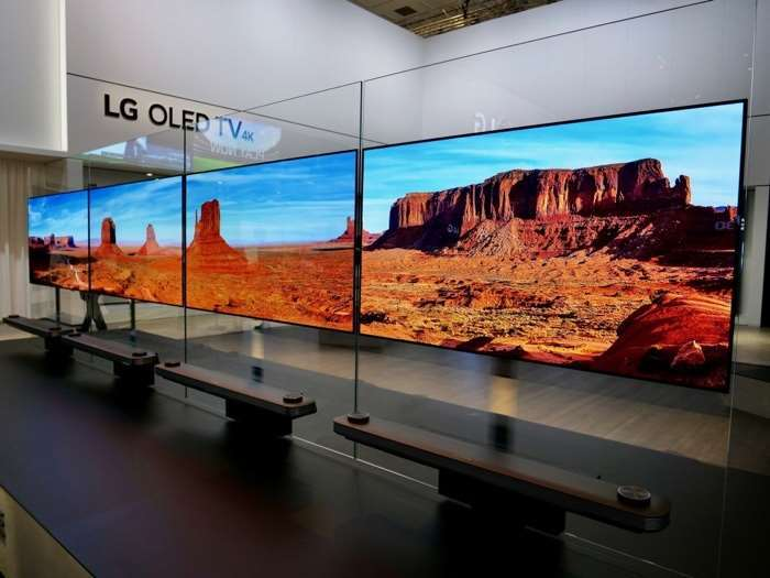 2017 LG OLED TVs