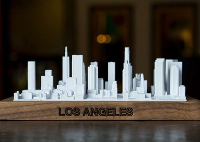 3D Printed Scale City Skylines
